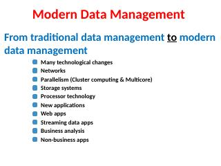 Introduction-Modern-Data-Management