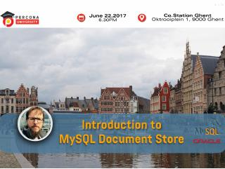 Introduction to mysql document store
