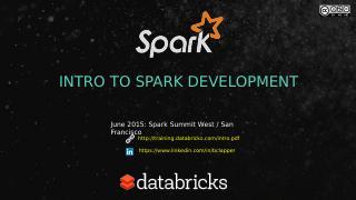 Apache Spark开发介绍