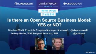 Is There an Open Source Business Model: YES o...