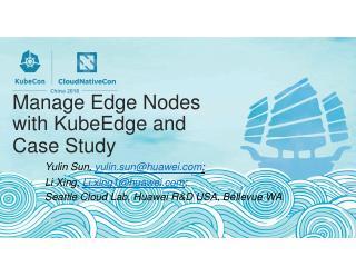 """使用""""KubeEdge""""管理边缘节点"""