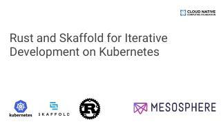 用于 Kubernetes 迭代开发的 R...