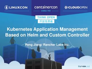 Kubernetes Application Management Based on He...