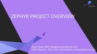 Introduction to the Zephyr Project