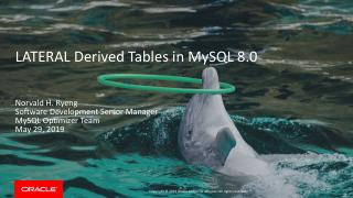 LATERAL Derived Tables in MySQL 8.0