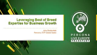 Leveraging Best Of Breed Expertise for Busine...