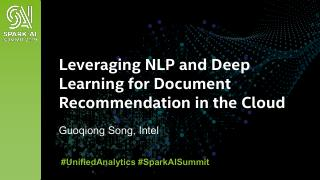 Leveraging NLP and Deep Learning for Document...
