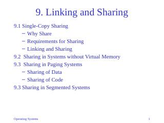 09-Linking and Sharing
