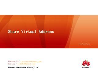 LinuxCon18_Share_Virtual_Address