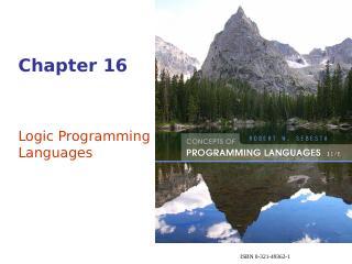 逻辑编程语言