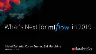 MLflow Meetup Feb 2019