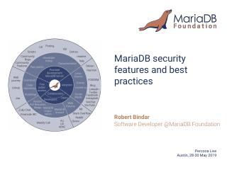 MariaDB Security Features and Best Practices