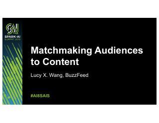 如何使观众读者们满意