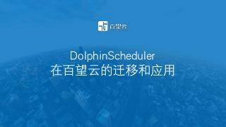 DolphinScheduler在百望云的...