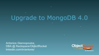 Migration to MongoDB 4.0 from a previous version