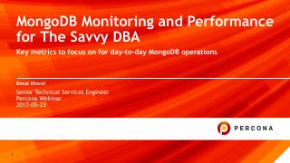 MongoDB Monitoring and Performance for The Sa...