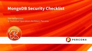 MongoDB Security Checklist
