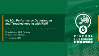MySQL Performance Optimization and Troublesho...