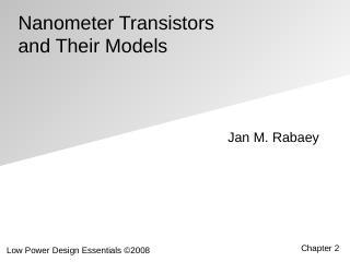 纳米晶体管及其模型