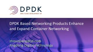 Networking Products Based on DPDK Integrated ...