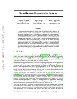 Neural Discrete Representation Learning