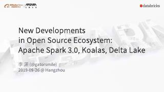 New Developments in Open Source Ecosystem: Ap...