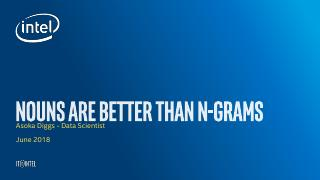 Nouns优于 N-Grams