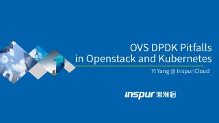 OVS DPDK Pitfalls in Openstack and Kubernetes