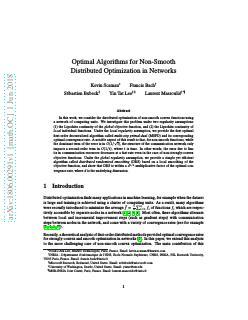 网络中非光滑分布优化的优化算法