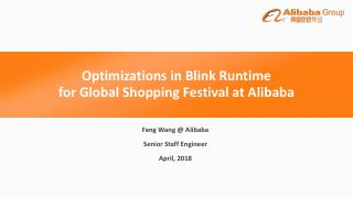 Optimizations in Blink Runtime for Global Sho...