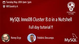 Part 2 MySQL InnoDB Cluster 8.0 in a Nutshell...