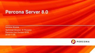 Percona Server 8.0