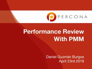 Performance Review with PMM