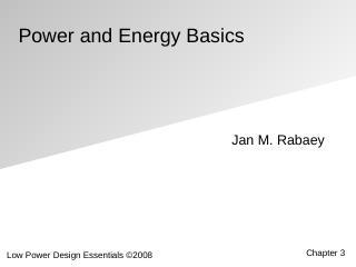 电路及能源基础