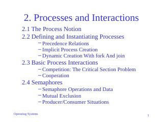 02-Processes and Interactions