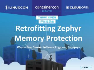 Retrofitting Memory Protection in the Zephyr OS