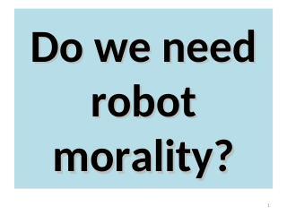 021-Robot Morality