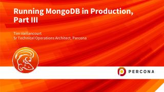 Running MongoDB in Production part 3