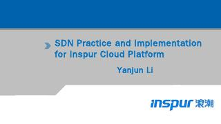 SDN Practice and Implementation for Inspur Cl...