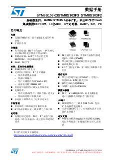 STM8S103中文资料