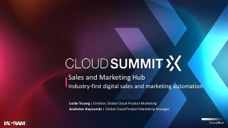 Sales and Marketing Hub