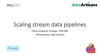Scaling stream data pipelines