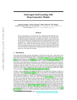Semi-supervised Learning with Deep Generative...