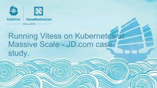 在 Kubernetes 上大规模运行 V...