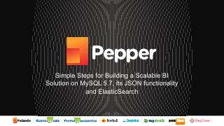 Simple Steps for Building a Scalable BI Solution