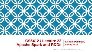 23-Spark RDD concept
