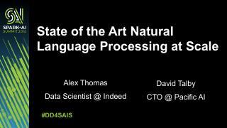 自然语言处理的最新进展