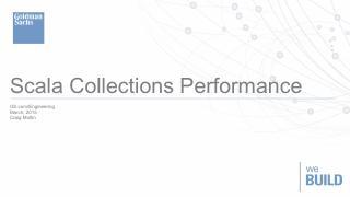 Scala集合API性能