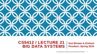 21-The Apache big-data technologies