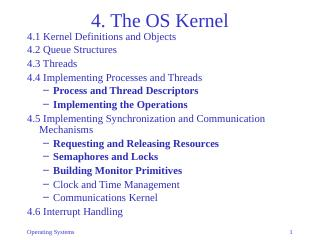 04-The OS Kernel